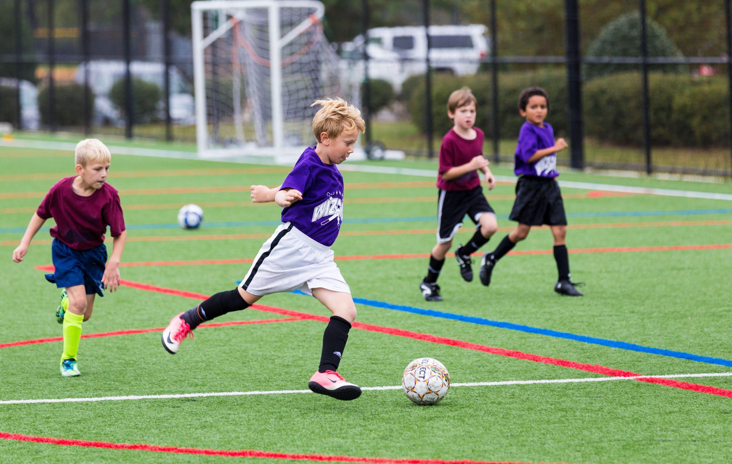 voetbal jongens